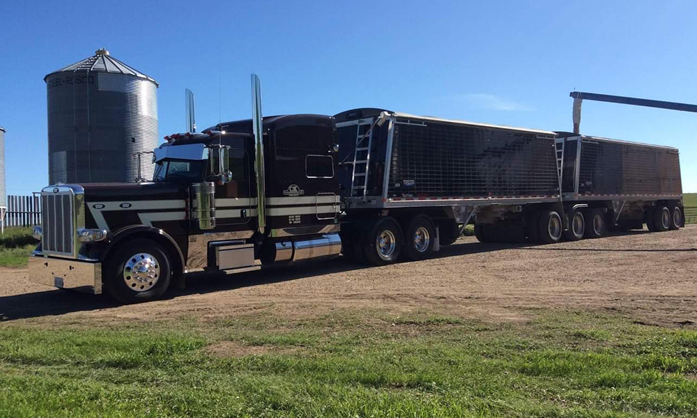 CK Transportation agricultural hauling
