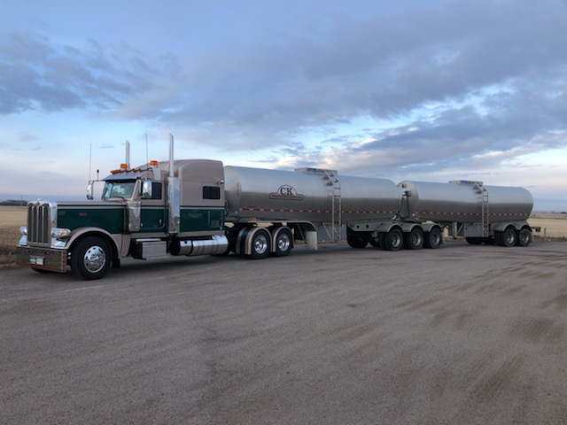CK Transportation liquid hauling